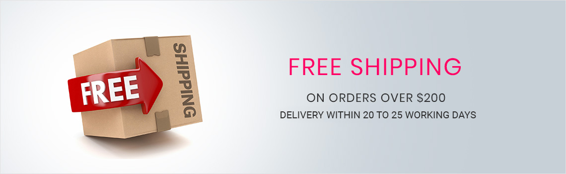 Free Shipping Offers Banner